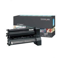 Lexmark C7700KH High-Yield Black OEM Laser Toner Cartridge