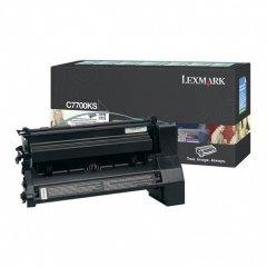 Lexmark C7700KS Black OEM Laser Toner Cartridge