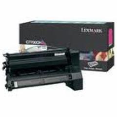 Lexmark C7700MH High-Yield Magenta OEM Toner Cartridge