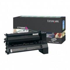 Lexmark C7700MS Magenta OEM Laser Toner Cartridge