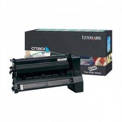 Lexmark C7720CX EHY Cyan OEM Laser Toner Cartridge