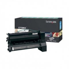 Lexmark C7720KX EHY Black OEM Laser Toner Cartridge