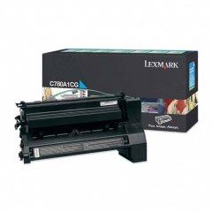 Lexmark C780A1CG Cyan OEM Laser Toner Cartridge
