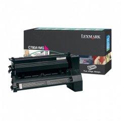 Lexmark C780A1MG Magenta OEM Laser Toner Cartridge