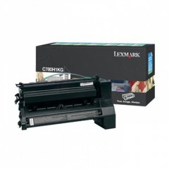 Lexmark C780H1KG High-Yield Black OEM Laser Toner Cartridge