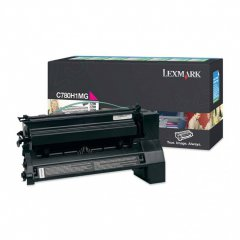 Lexmark C780H1MG High-Yield Magenta OEM Toner Cartridge