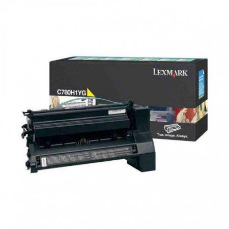 Lexmark C780H1YG High-Yield Yellow OEM Toner Cartridge