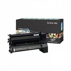 Lexmark C782U1CG EHY Cyan OEM Laser Toner Cartridge