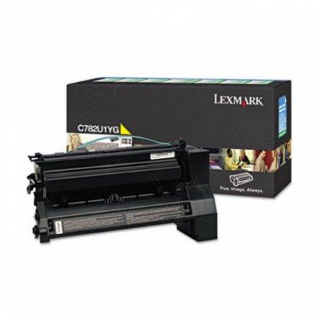 Lexmark C782U1YG EHY Yellow OEM Laser Toner Cartridge