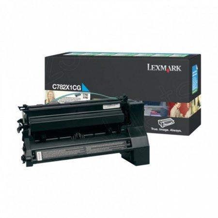 Lexmark C782X1CG EHY Cyan OEM Laser Toner Cartridge