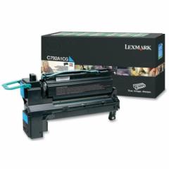 Lexmark C792A1CG Cyan OEM Laser Toner Cartridge
