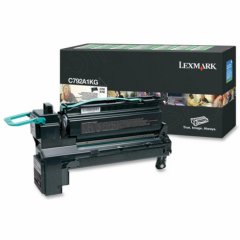 Lexmark C792A1KG Black OEM Laser Toner Cartridge