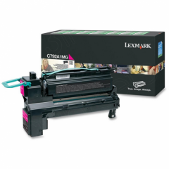 Lexmark C792A1MG Magenta OEM Laser Toner Cartridge