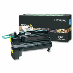 Lexmark C792A1YG Yellow OEM Laser Toner Cartridge