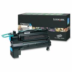 Lexmark C792X1CG EHY Cyan OEM Laser Toner Cartridge
