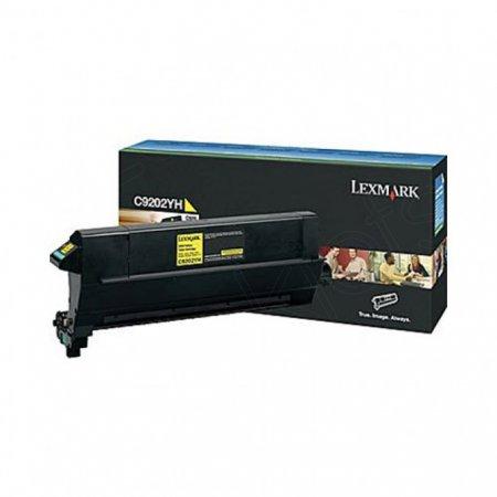 Lexmark C9202YH Yellow OEM Laser Toner Cartridge