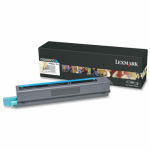Lexmark C925H2CG High Yield Cyan OEM Laser Toner Cartridge