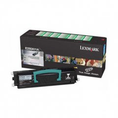 Lexmark E250A11A Black OEM Laser Toner Cartridge