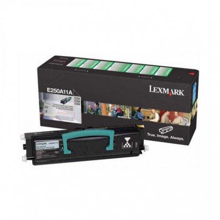 Lexmark E250A11A Black OEM Laser Toner Cartridge