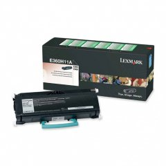 Lexmark E360H11A High-Yield Black OEM Laser Toner Cartridge