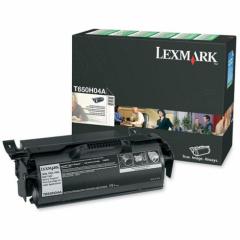 Lexmark T650H04A High-Yield Black OEM Laser Toner Cartridge