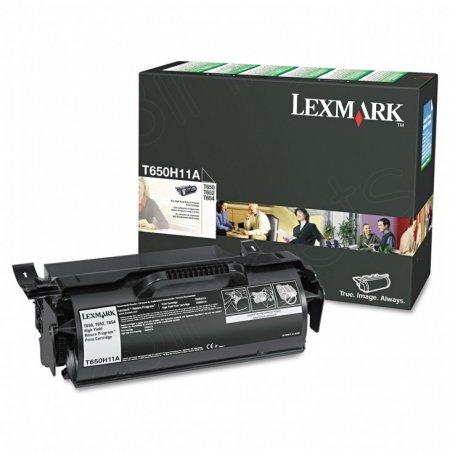 Lexmark T650H11A High Yield Black OEM Laser Toner Cartridge