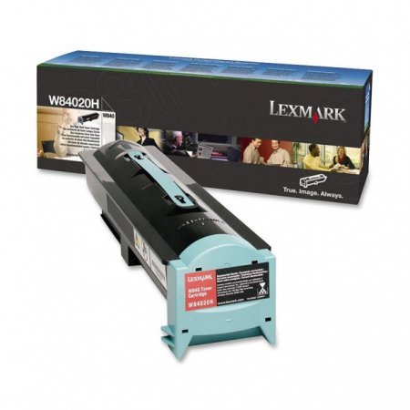Lexmark W84020H High Yield Black OEM Laser Toner Cartridge