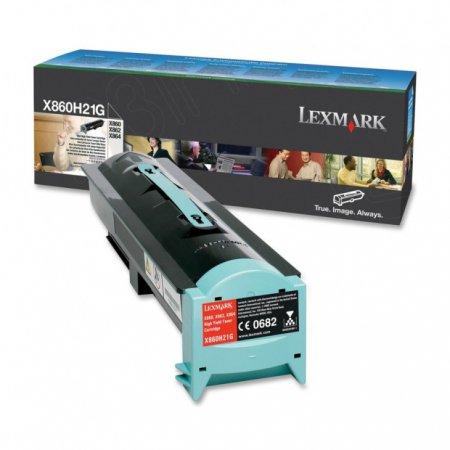 Lexmark W850H21G High Yield Black OEM Laser Toner Cartridge