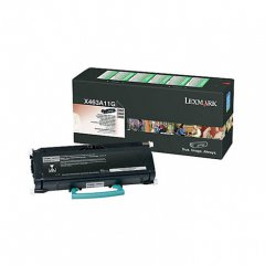 Lexmark X463A11G Black OEM Laser Toner Cartridge