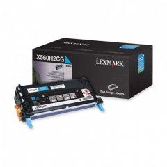 Lexmark X560H2CG Cyan OEM Laser Toner Cartridge