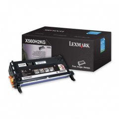 Lexmark X560H2KG Black OEM Laser Toner Cartridge