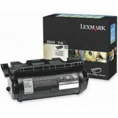 Lexmark X644A11A Black OEM Laser Toner Cartridge