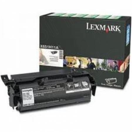 Lexmark X651H11A High-Yield Black OEM Laser Toner Cartridge
