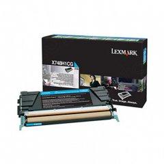 Lexmark X748H1CG High-Yield Cyan OEM Laser Toner Cartridge