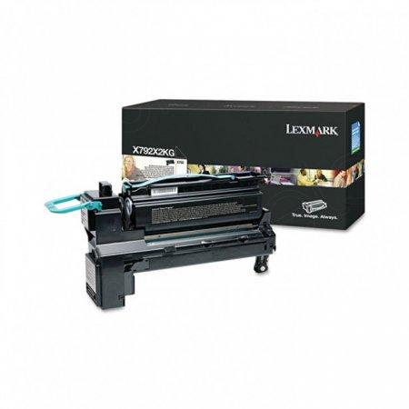 Lexmark X792X2KG EHY Black OEM Laser Toner Cartridge
