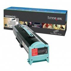Lexmark X850H21G Black OEM Laser Toner Cartridge