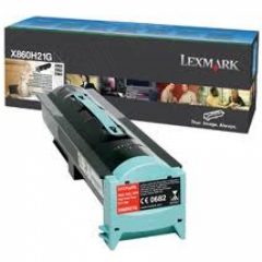 Lexmark X860H21G High Yield Black OEM Laser Toner Cartridge