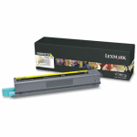 Lexmark X925H2YG High Yield Yellow OEM Toner Cartridge