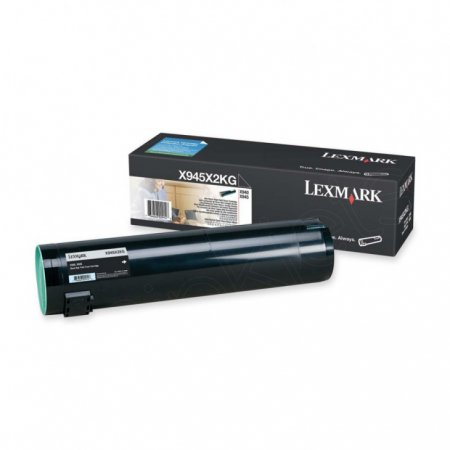 Lexmark X945X2KG High Yield Black OEM Laser Toner Cartridge