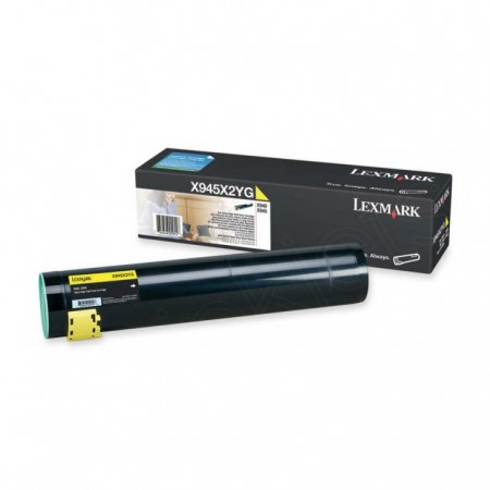 Lexmark X945X2YG High Yield Yellow OEM Toner Cartridge