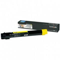 Lexmark X950X2YG EHY Yellow OEM Laser Toner Cartridge