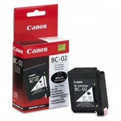 Canon BC02 Inkjet Cartridge, Black, OEM