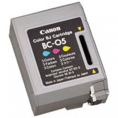 Canon BC-05 Inkjet Cartridge, Color, OEM