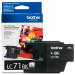 Brother Innobella LC71BK (LC71) Ink Cartridge, Black, OEM