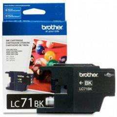 Brother Innobella LC71BK (LC71) Ink Cartridge, Black, OEM