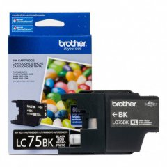 Brother Innobella LC75BK Ink Cartridge, Black, OEM