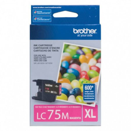 Brother Innobella LC75M Ink Cartridge, Magenta, OEM