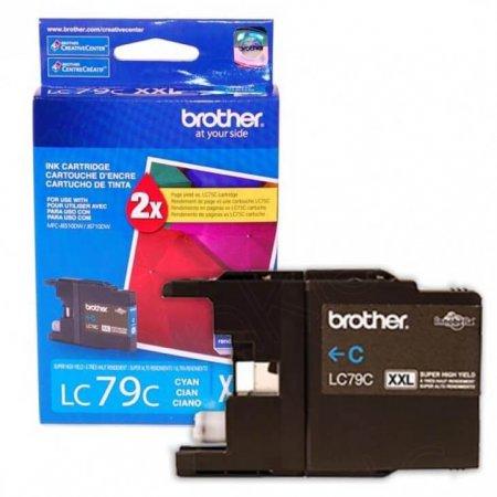 Brother Innobella LC79C (LC79) Ink Cartridge, Cyan, OEM