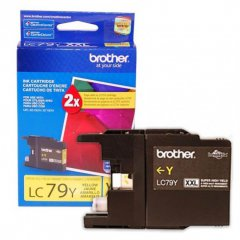 Brother Innobella LC79Y (LC79) Ink Cartridge, Yellow, OEM