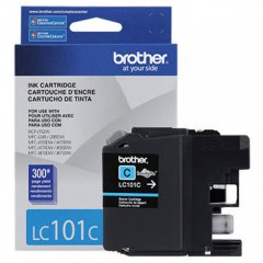 Brother LC101C Ink Cartridge, Cyan, OEM